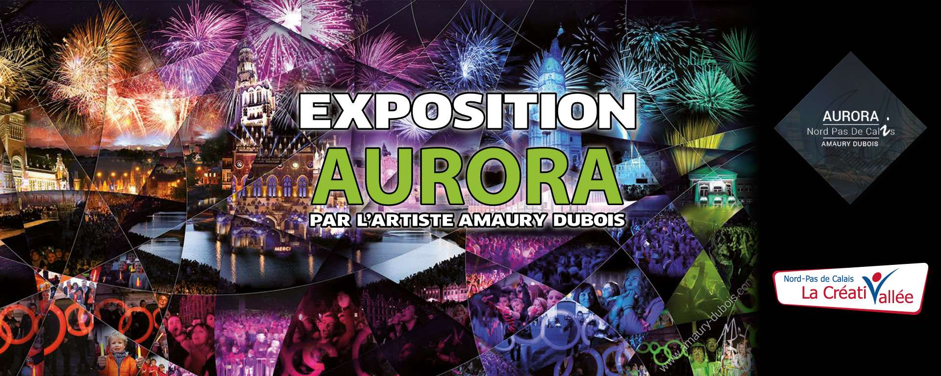 Vernissage de l'expostion Aurora
