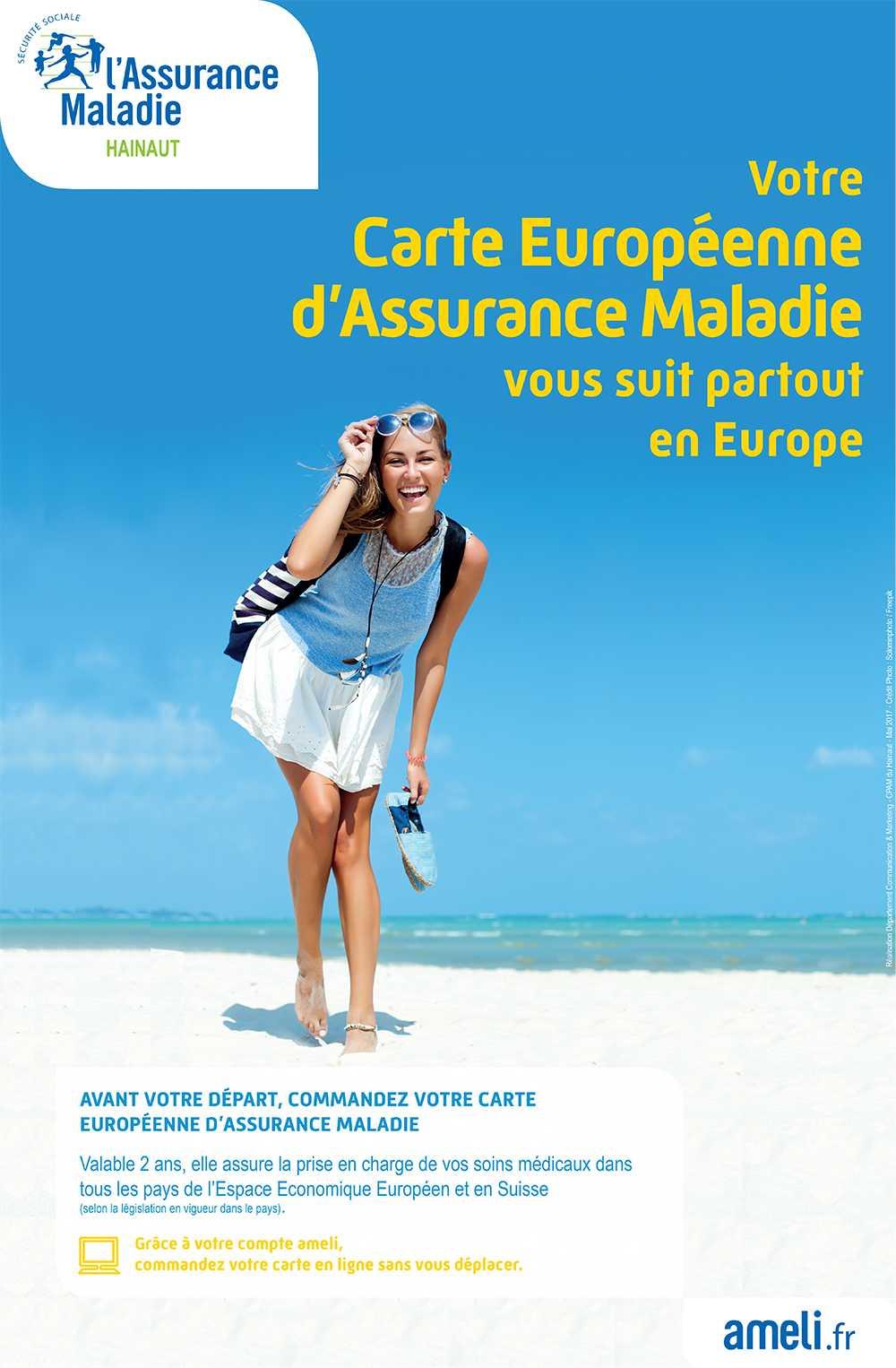 Carte Europeenne Assurance Maladie Ameli.La Carte Europeenne D Assurance Maladie Ville De Fourmies